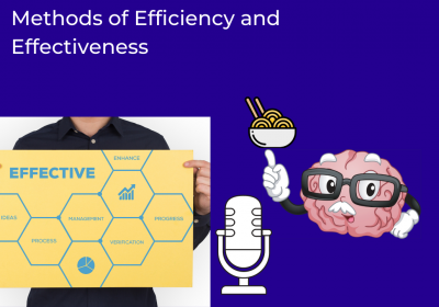 Methods of Efficiency and Effectiveness