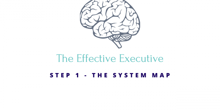 The Effective Executive Step 1 – The System Map